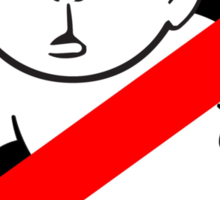 Karl Pilkington - RockBusters Sticker