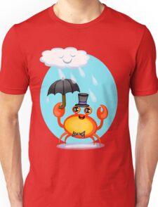 Singing In The Rain Crab T-Shirt Unisex T-Shirt
