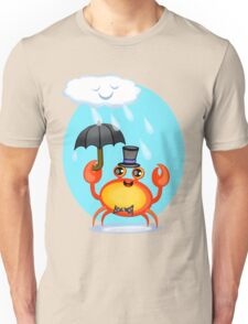 Singing In The Rain Crab T-Shirt Unisex T-Shirt