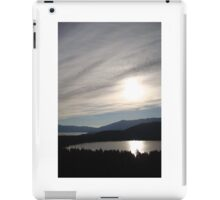 Sunrise Over Fallen Leaf Lake iPad Case/Skin