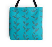 Leaves - Blue Tote Bag