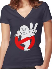 Karl Pilkington - RockBusters Women's Fitted V-Neck T-Shirt