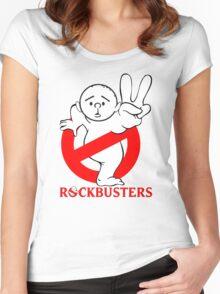 Karl Pilkington - RockBusters Women's Fitted Scoop T-Shirt