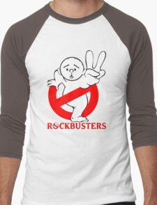 Karl Pilkington - RockBusters Men's Baseball ¾ T-Shirt