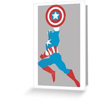 Shield and Stripes Greeting Card