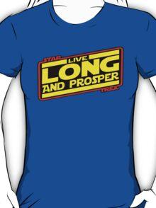 Live Long & Prosper Strikes Back T-Shirt