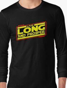 Live Long & Prosper Strikes Back Long Sleeve T-Shirt