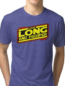 Live Long & Prosper Strikes Back Tri-blend T-Shirt