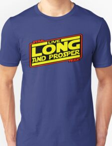 Live Long & Prosper Strikes Back Unisex T-Shirt