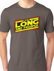 Live Long & Prosper Strikes Back Unisex T-Shirt