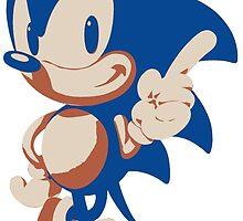Minimalist Sonic 4 by 4xUlt