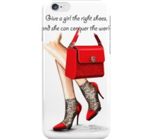 In my shoes  iPhone Case/Skin