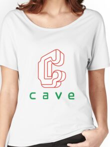 Cave Women's Relaxed Fit T-Shirt