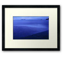Saint Malo at sunset Framed Print
