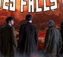 Gallifrey Falls No More (Alt) Sticker