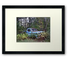 Rust and remember 2 Framed Print