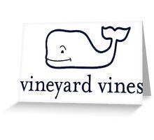 Vineyard Vines Whale  Greeting Card