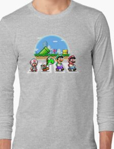 Mushroom Road Long Sleeve T-Shirt
