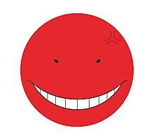 Korosensei Angry Round Face Photographic Print