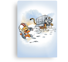 Attack of the Deranged Killer Snow Walkers Metal Print