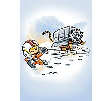 Attack of the Deranged Killer Snow Walkers Photographic Print