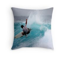 Saturday Surf... Throw Pillow