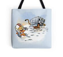 Attack of the Deranged Killer Snow Walkers Tote Bag