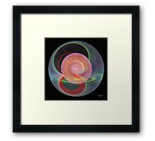 'Simple Abstract 014' Framed Print