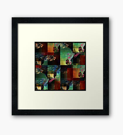 the carnage of bliss Framed Print