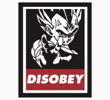 Vegeta Disobey by Dandyguy