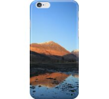 Bidean and the Pap of Glencoe iPhone Case/Skin