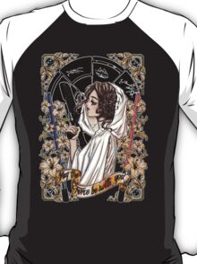 The force of the Princess Leia T-Shirt