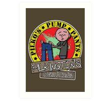 Karl Pilkington - Pilko Pump Pants Art Print