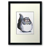 Bear the Diabeetus Squirrel Framed Print