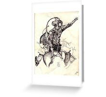 Astride Greeting Card