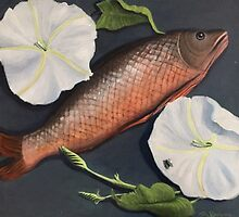 The Moonflowers, The Fish and a Fly by Randy  Burns
