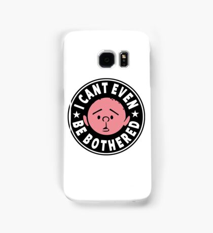 Karl Pilkington - I Cant Even Be Bothered Samsung Galaxy Case/Skin