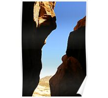 Vasquez Rock Cavern Poster