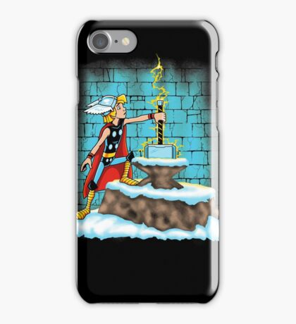 King Ar-THOR iPhone Case/Skin