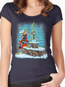 King Ar-THOR Women's Fitted Scoop T-Shirt