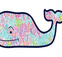 Lily Pulitzer Whale by foreversarahx