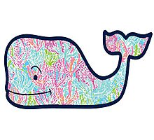 Lily Pulitzer Whale Photographic Print