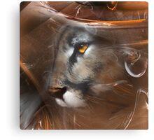 Cougar Puma panther animals,wildlife,wildlife art,nature Canvas Print
