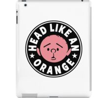 Karl Pilkington - Head Like An Orange iPad Case/Skin