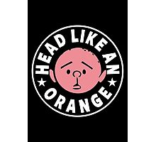 Karl Pilkington - Head Like An Orange Photographic Print