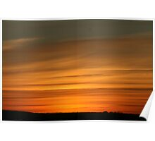Sunset in Texas Poster