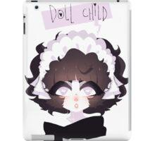 doll child iPad Case/Skin