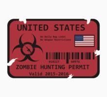 United States Zombie Hunting Permit by loki1982