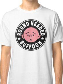 Karl Pilkington - Round Headed Buffoon Classic T-Shirt