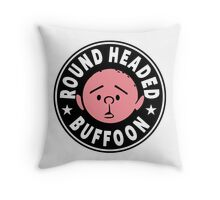 Karl Pilkington - Round Headed Buffoon Throw Pillow